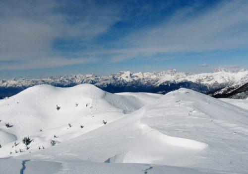 Dalla cima del Col Cornier